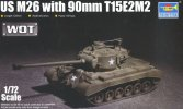 Trumpeter 07170 - 1/72 US M26 with 90mm T15E2M2