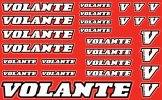 Volante Decal, Red