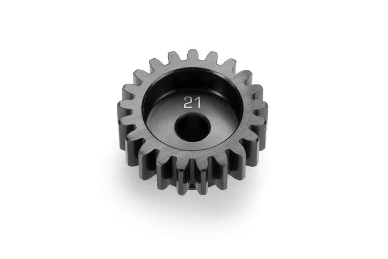 XRAY 355821 - Aluminium Pinion Gear - Hard Coated 21t