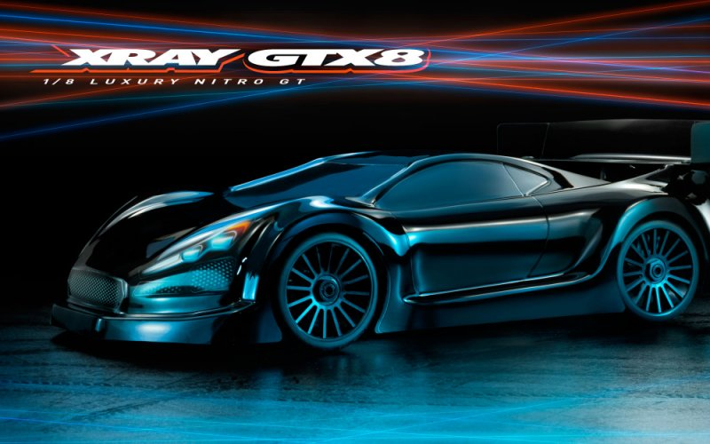 XRAY 350501 - Xray GTX8.2 - 1/8 Luxury Nitro On-road GT Car