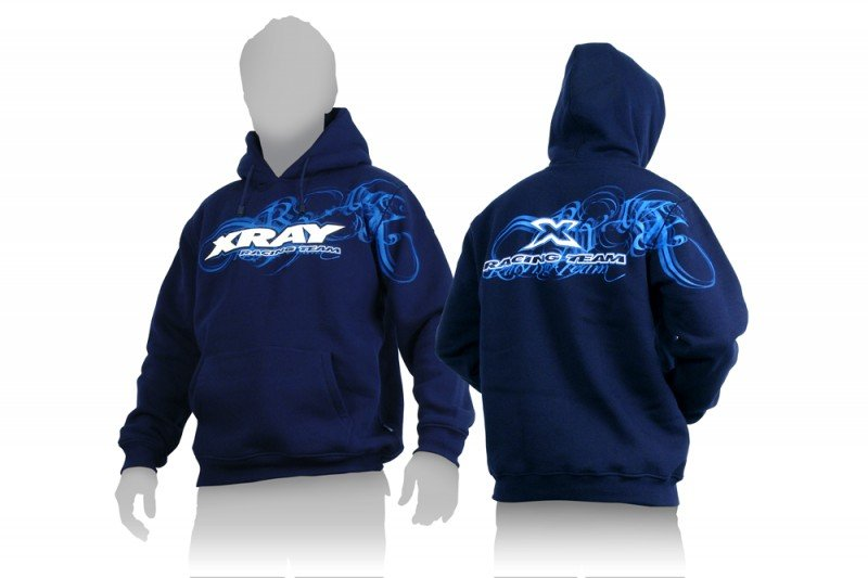 XRAY 395500XS Sweater Hooded - Blue (XS)