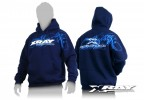 XRAY 395500XL Sweater Hooded - Blue (XL)